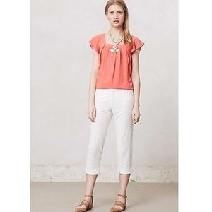 Anthropologie Cartonnier Charlie Cropped Pants